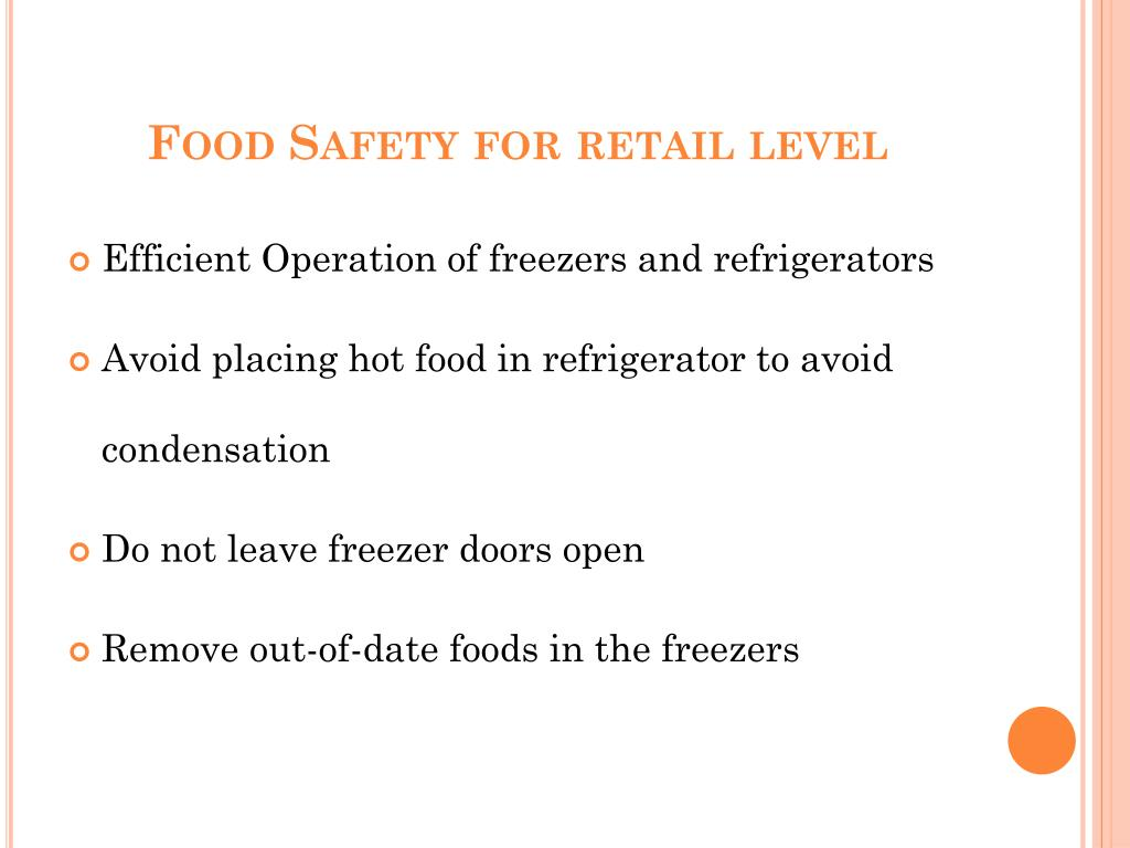 Food Safety for