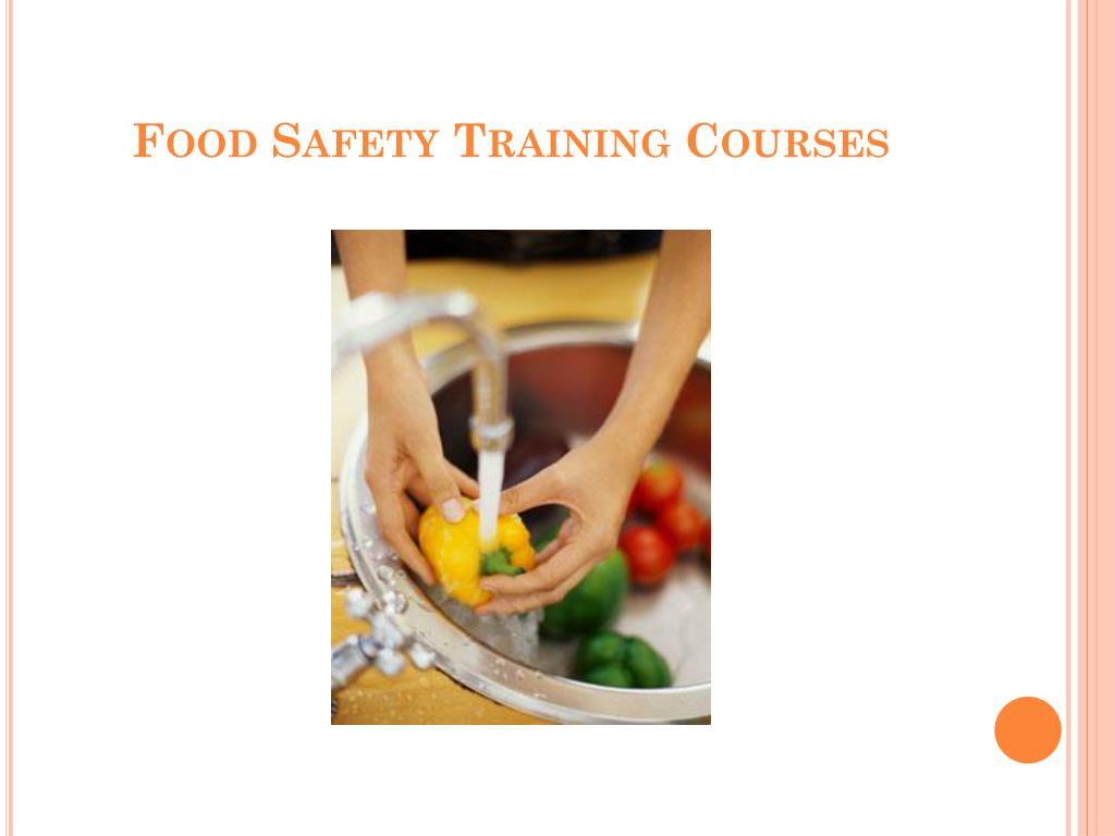 food safety training courses l.