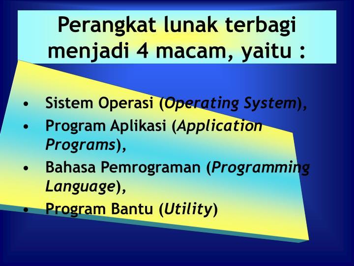 Ppt Perangkat Lunak Software Powerpoint Presentation Id1298558