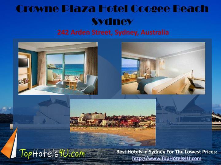 Crowne Plaza Hotel Coogee Beach Sydney