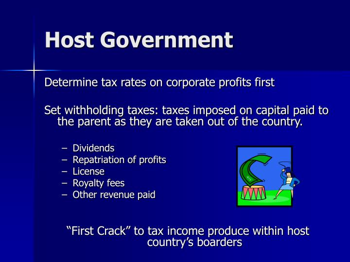 Host Government