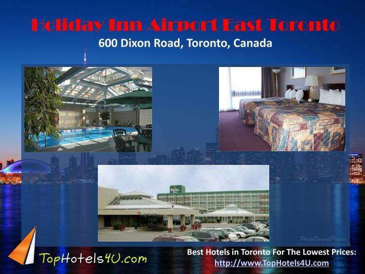 Holiday Inn Airport East Toronto
