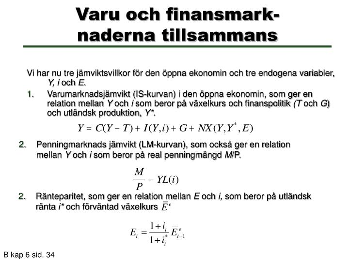 Varu och finansmark-