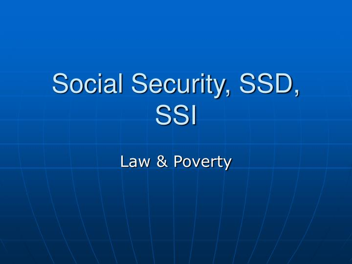the importance of social security The importance of social security special needs attorney october 15, 2018 if you're a social security applicant, you might extremely well understand that it's impossible for non-lawyers to understand the ins and outs of social security law.