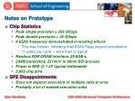 notes on prototype
