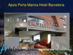 apsis porta marina hotel barcelona sancho de avila 32 34 barcelona spain