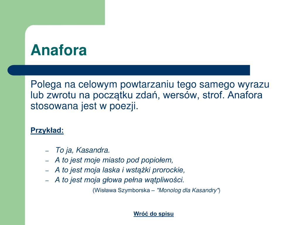 Ppt środki Stylistyczne Powerpoint Presentation Free