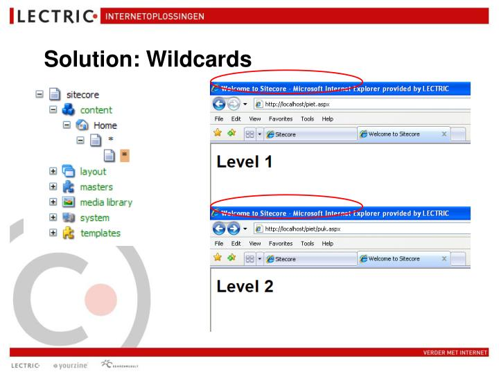 Solution: Wildcards