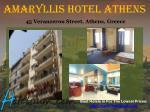 amaryllis hotel athens 45 veranzerou street athens greece