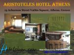 aristoteles hotel athens 15 acharnon street vathis square athens greece
