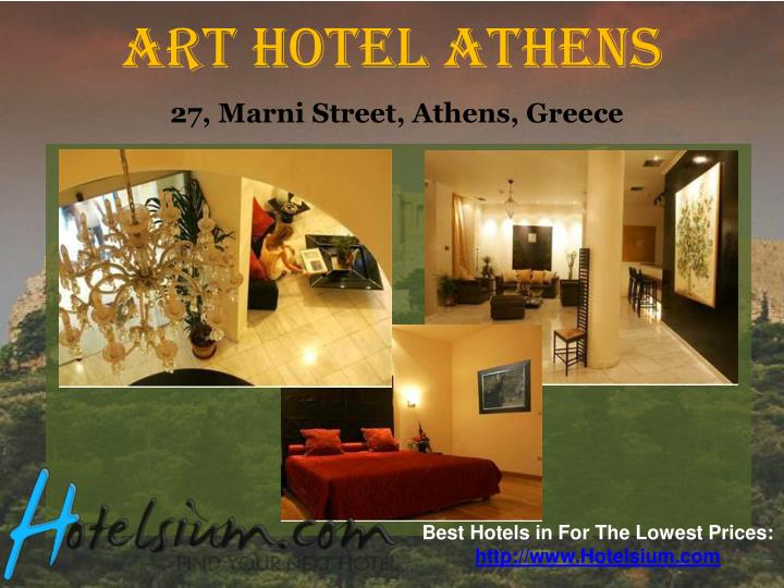 Art hotel athens 27 marni street athens greece