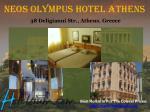 neos olympus hotel athens 38 deligianni str athens greece