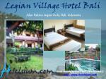 legian village hotel bali jalan padma legian kuta bali indonesia