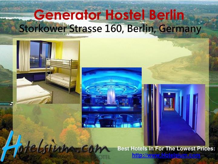 Generator Hostel Berlin