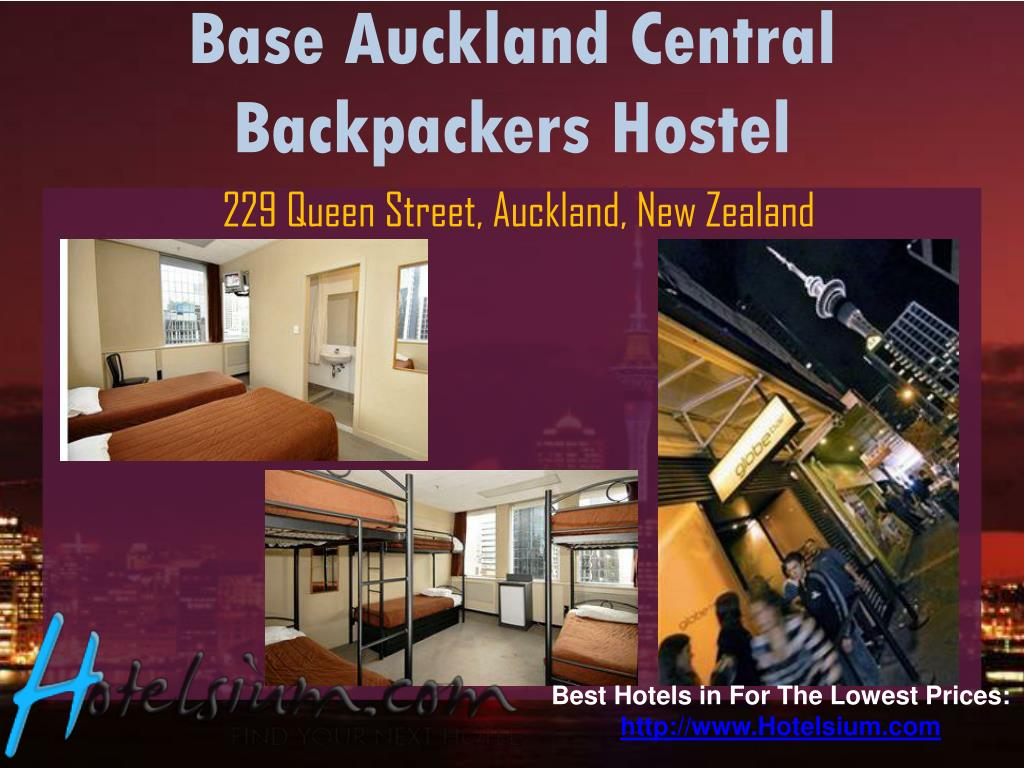 Base Auckland Central Backpackers Hostel