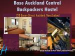 base auckland central backpackers hostel 229 queen street auckland new zealand