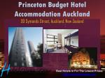 princeton budget hotel accommodation auckland 30 symonds street auckland new zealand