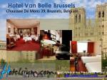 hotel van belle brussels chaussee de mons 39 brussels belgium