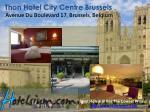thon hotel city centre brussels avenue du boulevard 17 brussels belgium