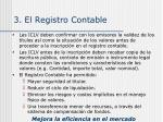 3 el registro contable