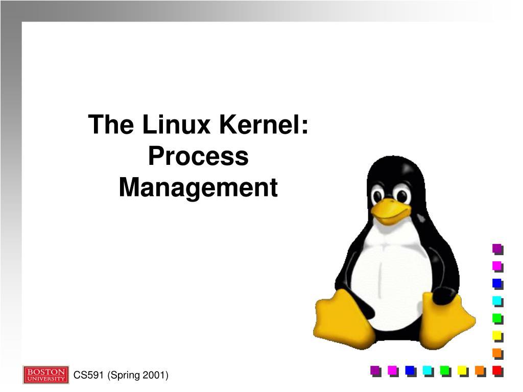 Ppt The Linux Kernel Process Management Powerpoint Presentation