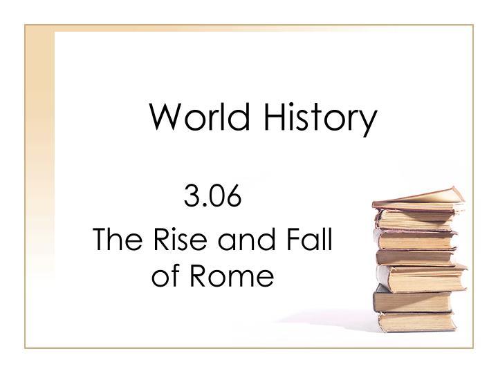 world history n.
