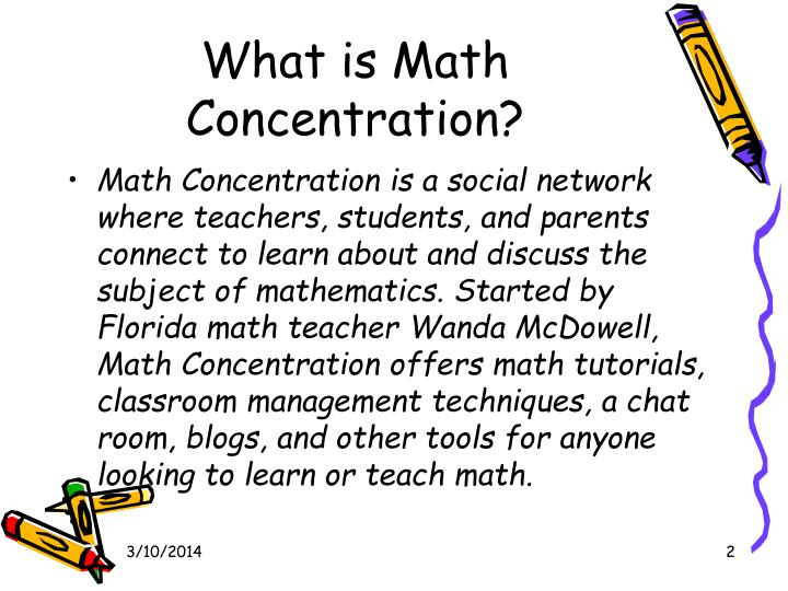 What is math concentration