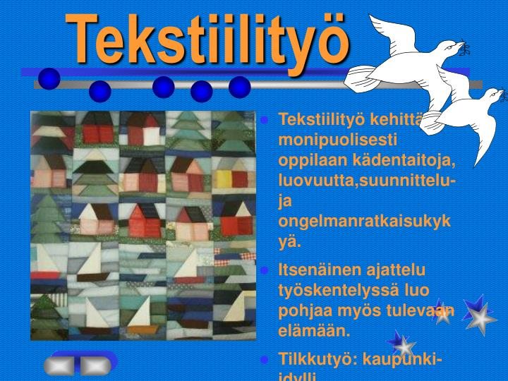 tekstiility n.