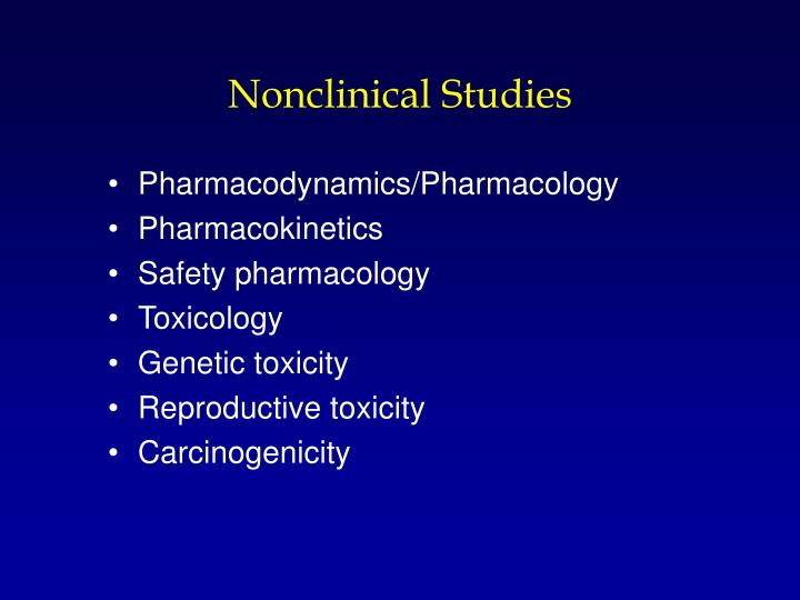 Nonclinical Studies