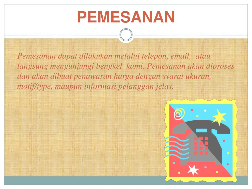 PEMESANAN