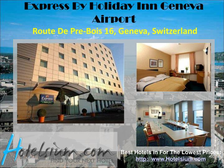 Express By Holiday Inn Geneva Airport