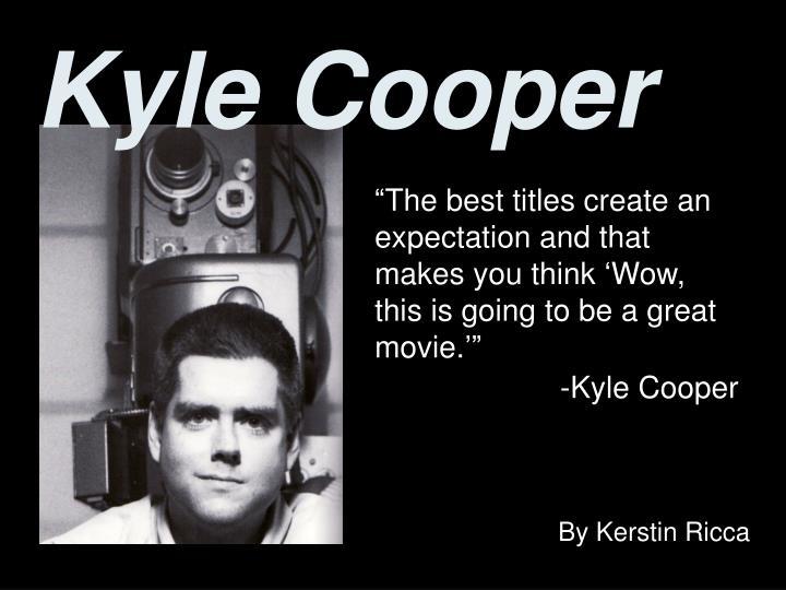 kyle cooper n.