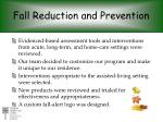 fall reduction and prevention1
