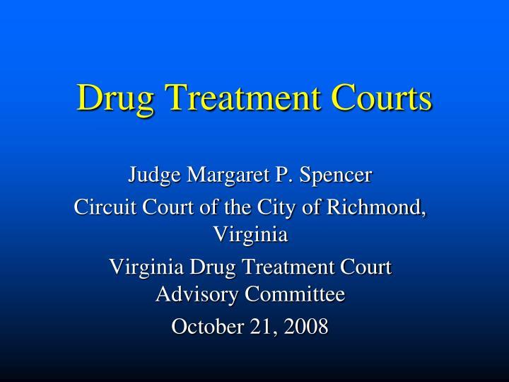 drug treatment courts n.