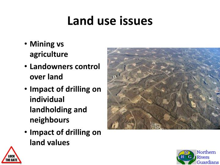 Land use issues