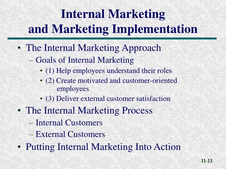The Internal Marketing Approach