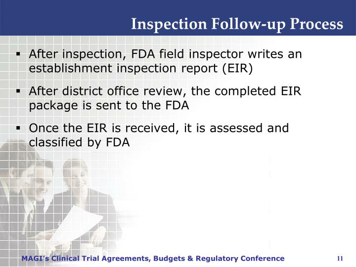 Inspection Follow-up Process
