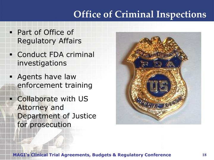 Office of Criminal Inspections