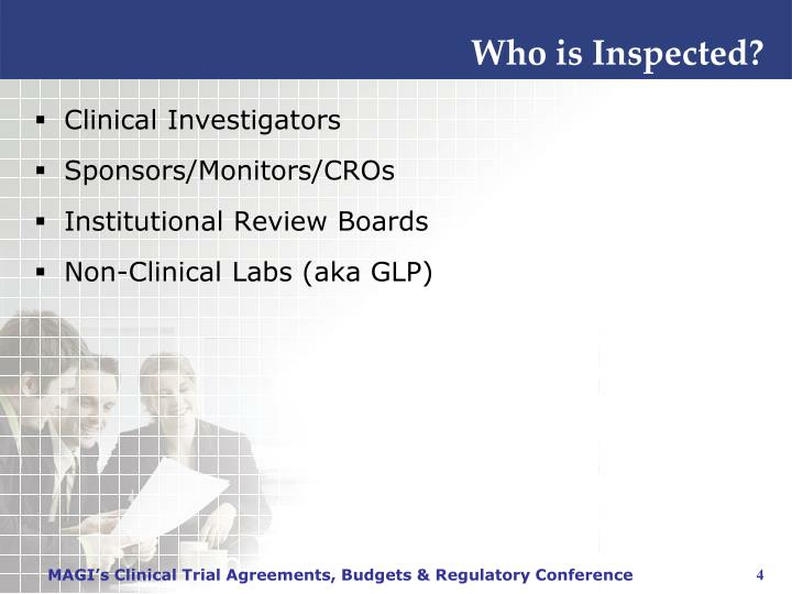 Who is Inspected?