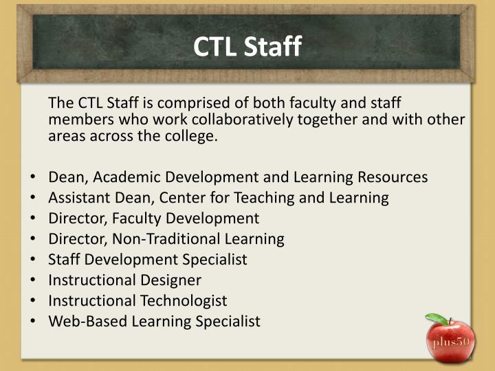 CTL Staff