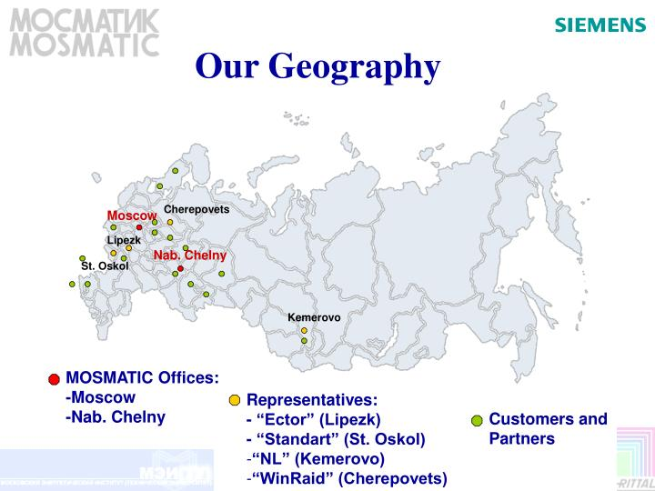 Our Geography