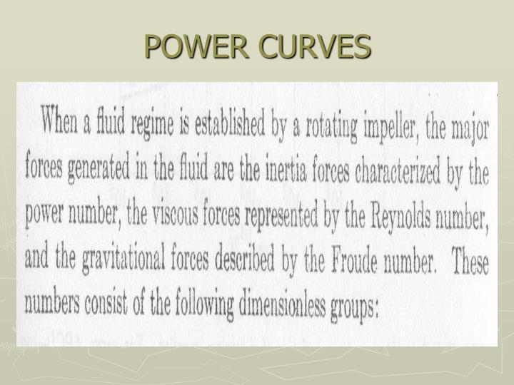 POWER CURVES