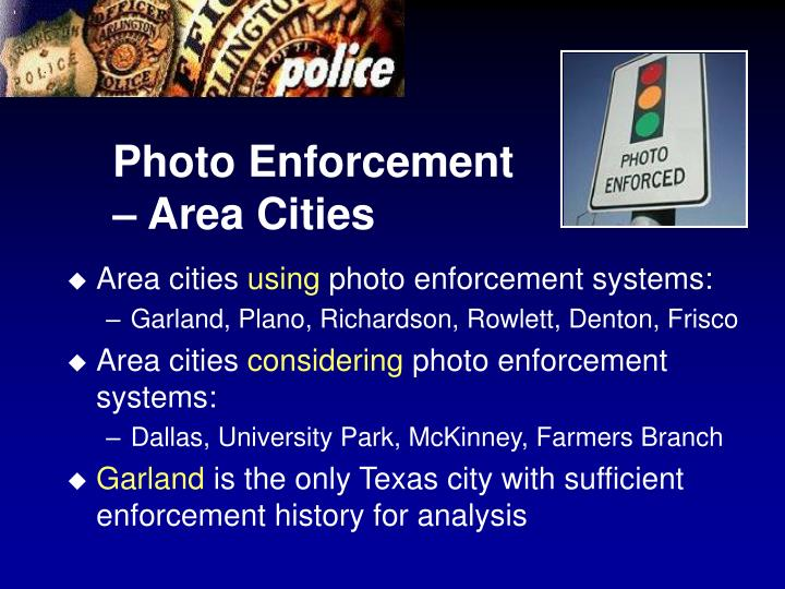 Photo Enforcement