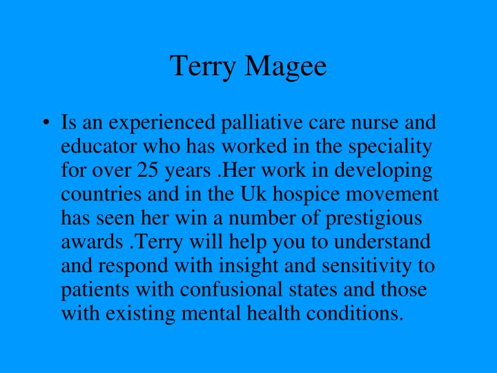 terry magee n.