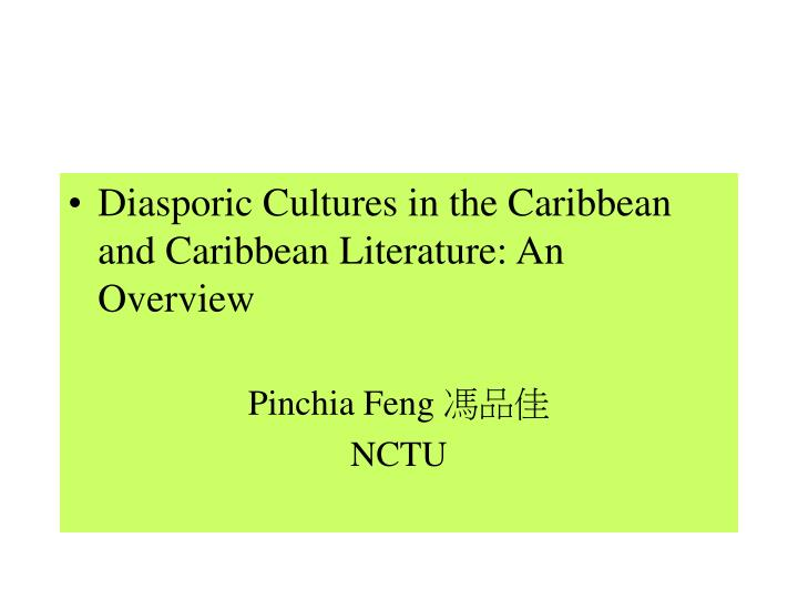 define creolization in caribbean studies Creolization definition: the process of languages mixing to produce new ones, used especially to refer to mixtures of local languages with european languages learn more.