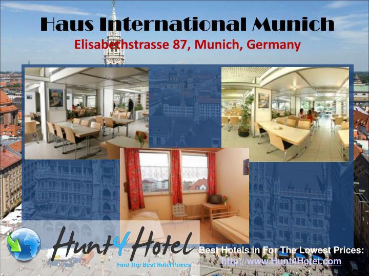 Haus International Munich