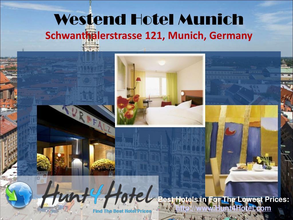 Westend Hotel Munich