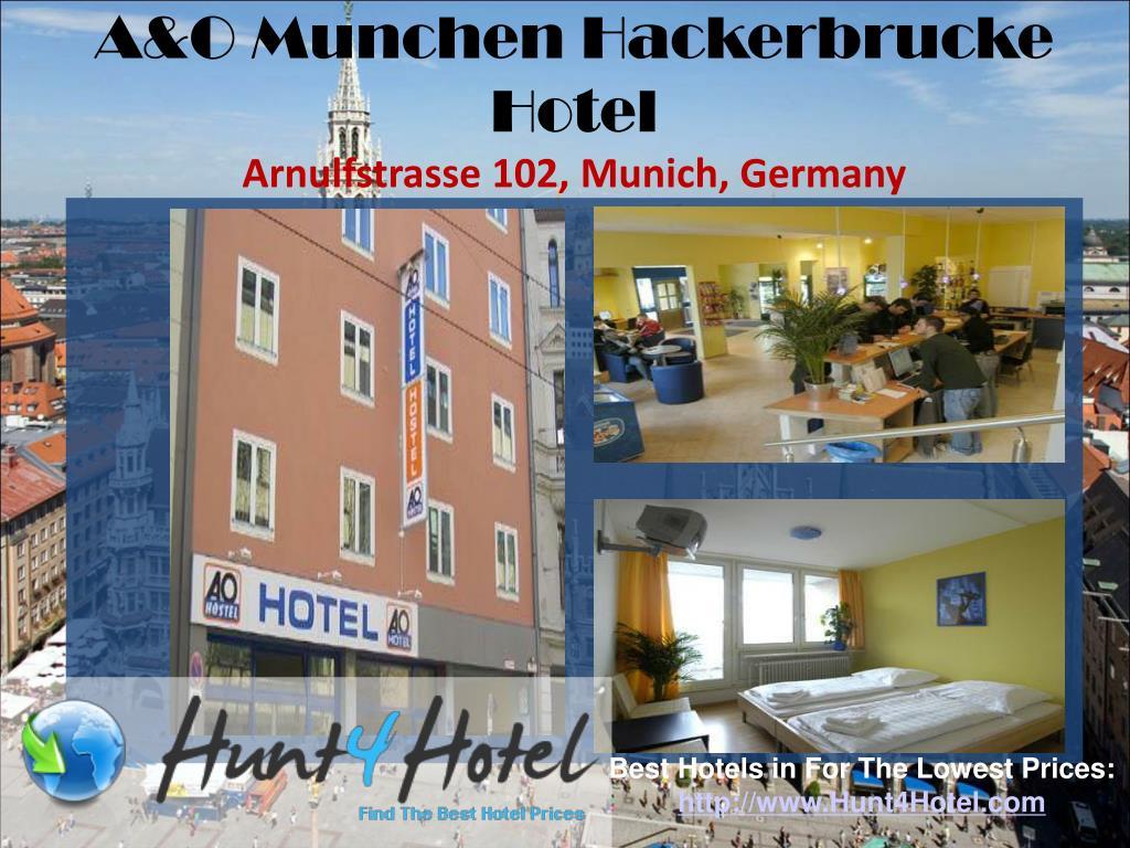 A&O Munchen Hackerbrucke Hotel