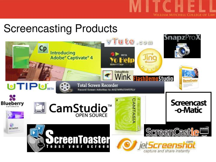 Screencasting Products