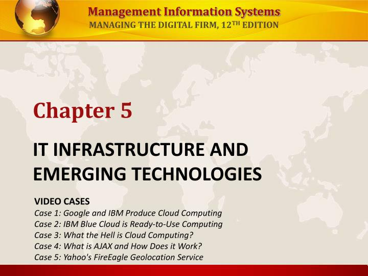 week 5 it infrastructure and emerging technologies homework Cmgt 554 week 6 individual: international plastics, inc it infrastructure review and upgrade recommendations cmgt 554 week 6 individual: international plastics, inc it infrastructure review and upgrade recommendations create and compile the following: a 175- to 350-word executive.